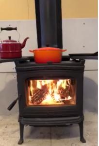 薪ストーブ 調理