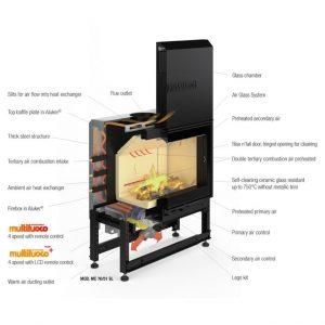 ピアツェッタ暖炉