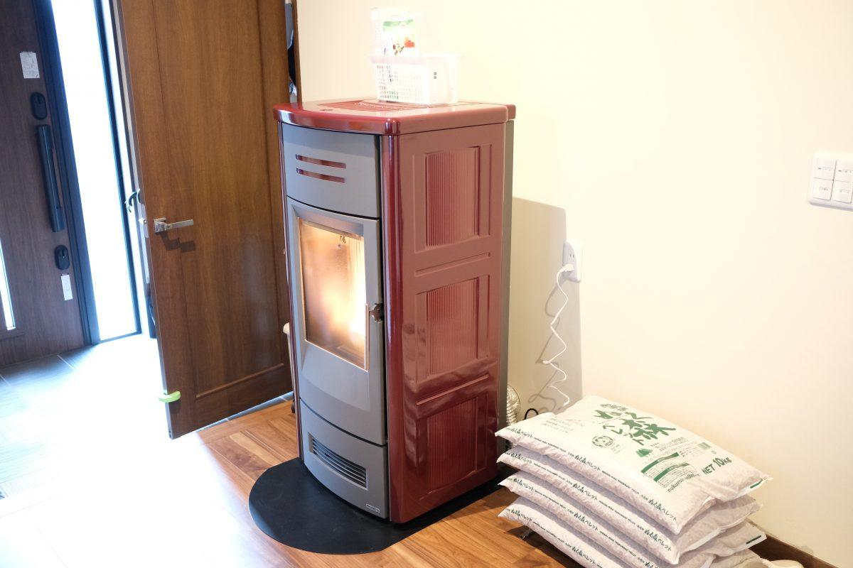 神奈川県でペレットストーブ全館暖房を施工。